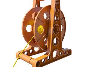 Rope - Cord Reel 3D