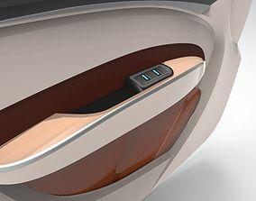 Automotive Interior- Door Trim Front 3D model