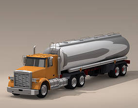 3D model US tanker truck