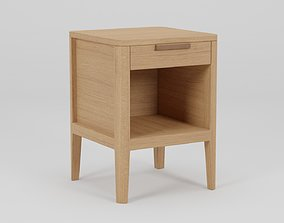 3D asset Bedside Table Night Stand 40x40x55
