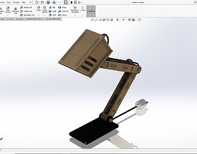 desk lamp design 3D