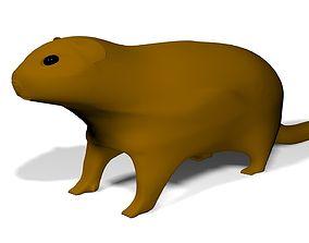 Groundhog UVW 3D model