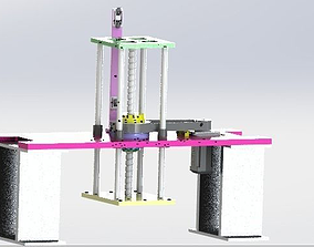 Z axis manipulator 3D