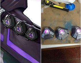 Sombra granades 3D model Overwatch sombra