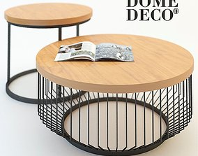 3D model Coffee table Dome Deco 2