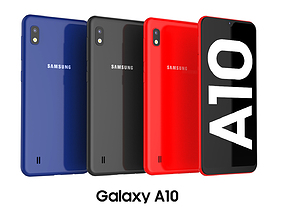 3D Samsung Galaxy A10 Collection