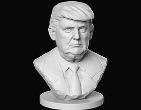 3D printable model Donald Trump trump