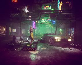 3D model Cyber City
