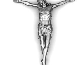 3D printable model Crucifix