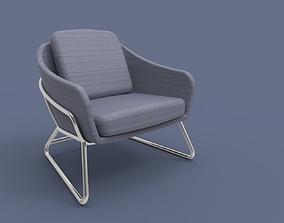 Modern Leisure Chair 3D print model