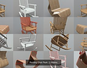 3D Rocking Chair Pack