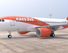 EASYJET A319 3D