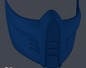 MK11 Sub-Zero Mask V4 - STL File 3D printable model