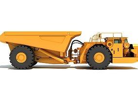 mining 3D Articulated Mining Truck