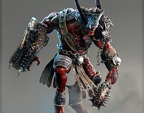 3D rigged Heavy Demon