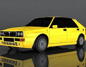 3D asset 1992 Lancia Delta