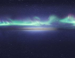 3D Skydome HDRI - Northern Lights 5