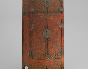 3D Cabinet 18 China Chinese Qing dynasty