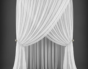 Curtain 3D model 197 realtime