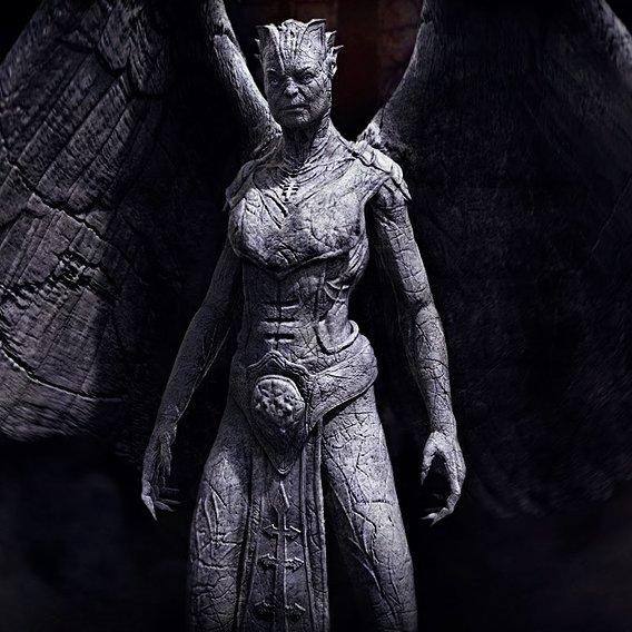 I Frankenstein - Gargoyle Queen final design