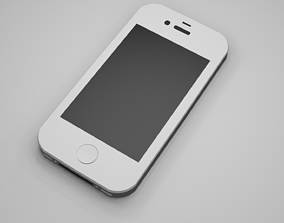 3D model animated iPhone 4S