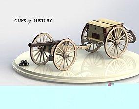 Caisson Cannon 3D model