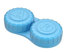 3D model Contact Lens Case lens