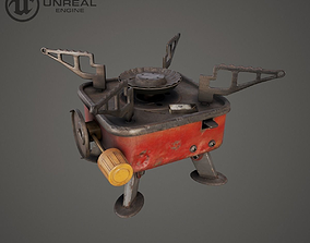 3D asset Primus rusty