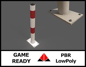 Parking post 3D model