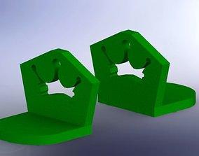 Frog king book end 3D model