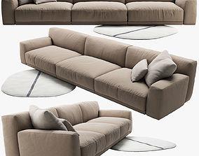 3D Poliform Paris Seoul sofa 3 poliform