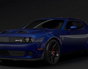 3D Dodge Challenger SRT Hellcat Widebody LC 2020