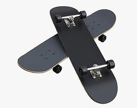 3D Skateboard 01