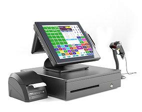 pos 3D Online POS terminal Posiflex XT5515