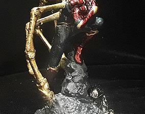 IRON SPIDER SPIDERMAN ENDGAME AVENGERS 3D