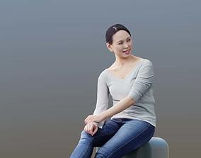Bao 10013 - Sitting Casual Girl 3D model