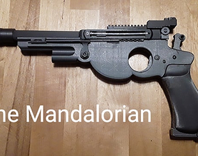 3D print model The Mandalorian Blaster Sidearm