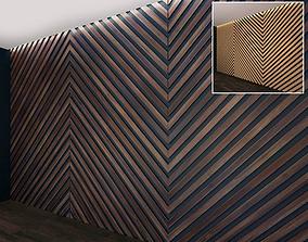 Wall Panel Set 21 3D model