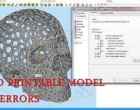 Hexagon Skull 3D printable model