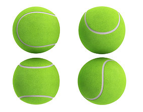 Tennis Ball 3D model adobe-challenge-sports-hobbies