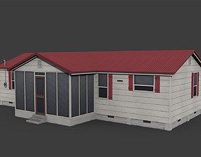 3D asset Suburban Family House