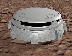 Sci-fi Bunker 28mm-32mm scale 3D print model