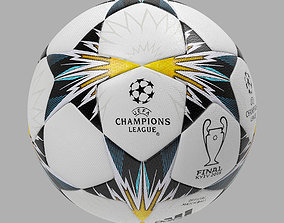 UEFA Champions League Official Ball 2018 3D model