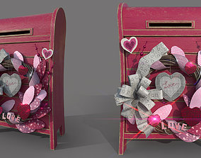 Valentines day letterbox 3D