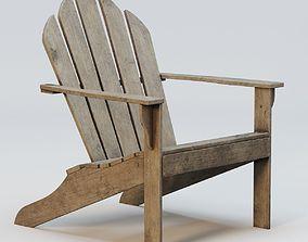 Adirondack chair 3D model