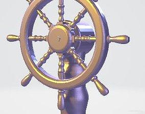 Ships Helm 3D print model