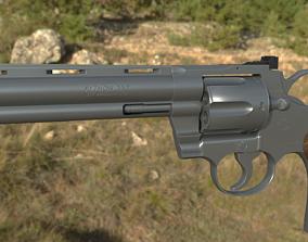 Colt Python 3D asset rigged