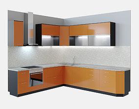 Kitchen techno 3D model