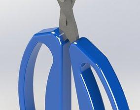 3D print model scissors