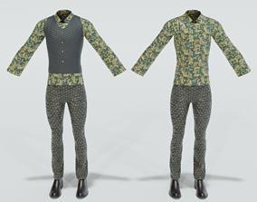 Fancy Outfit 3D asset